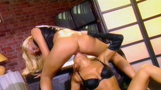 Sexy Lesbians Betty Anderson and Julia Taylor Lick Pussy for an Orgasm